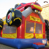 Monster Truck Inflatable Bouncer/monster truck bounce house for sale