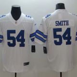 Dallas Cowboys #54 Smith White Jersey