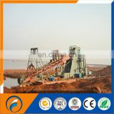 Qingzhou Dongfang 120m3/hr Bucket Chain Dredger Small  mining gold dredger/chain bucket gold dredger/mini gold dredger