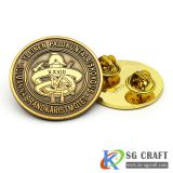 Custom Metal Lapel Pin High Quality Enamel Custom Zinc Alloy Badge Pin