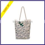 Wholesale high quality custom printed canvas ladies bag                                                                         Quality Choice