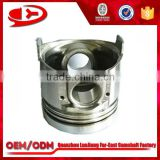 tractor spare parts racing forged piston for 4D95