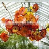 Artistic Color glazed Glass Chandelier Ceiling Lighting