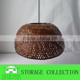Handmade Round Natural Bamboo Lamp Shade