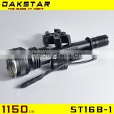 DAKSTAR ST16B-1 XML U2 1150LM hunting flashlight flash led light flash led hunting lights                                                                         Quality Choice