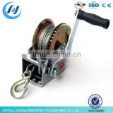 2014 new conditions, price of mini anchor hand operated winch with crack and break, small manual hand winch