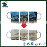 Promotional Cheap Ceramic Mugs Temperature Sensitive Color Changing Mugs Heat Sensitive Color Changing Mugs