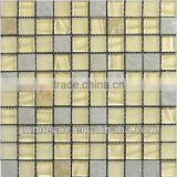 30x30x8MM Slate mix Glass Mosaic Tile