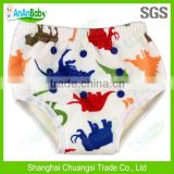 2014 New Minky Waterproof Reusable Bamboo Potty Training Pants / Toddler Baby Training Pants
