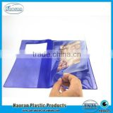 pvc flap pocket car use document holder