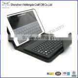 High Quality Bluetooth Wireless Keyboard Stand Leather Case For iPad Mini