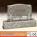 xiamen beautiful grey granite tombstone and monument