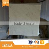 12in x24in white marble carrara polished flooring tile                                                                                                         Supplier's Choice