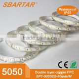 2016 ERP TESTING high brightness 12V/24V led strip light for glass shelf