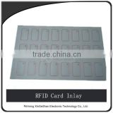 13.56mhz PVC Chip Inlay For Smart Card