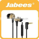 mobile flat wire earphones for laptop computer for smartphone S6 earbud sport headset Wired earphone