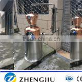 Copper distillation column distillation Alcohol distillation equipment for hot sale
