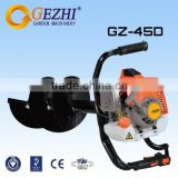 Gasoline engine 2 stroke portable earth auger hole drilling machine drilling tool GZ-45D