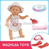 Inexpensive cartoon toy 32cm reborn baby with diving apparatus