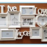 combination wall photo frame, plastic photo frame,cheap plastic photo frame                                                                         Quality Choice