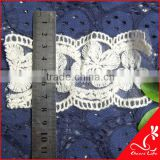 cheerslife flower cotton embroidery lace trim