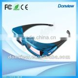 2013 trendy active shutter 3D lcd eyeglasses for DLP projector