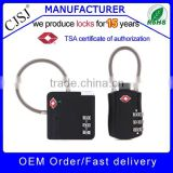Approved 3-Dial Luggage TSA cable Lock