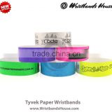 Good looking tyvek wristbands | tyvek made wristbands | cheap tyvek event band | newest tyvek paper band