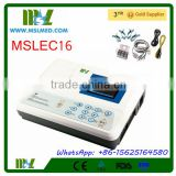 Best Quality & Good Price 3 Channel Ecg, Ekg, Electrocardiograph Machine (MSLEC16-4)