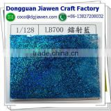 laser blue color glitter nail art acrylic dust powder                                                                         Quality Choice