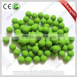 .68 Caliber Soft Reusable Solid Rubber Paintball Balls