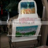Taxi Seat Cover For Advertisement
