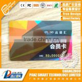 CR80 ISO Standard Size Plastic Glossy Finished Embossing Number VIP Membership Card