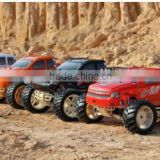Firelap big size 1/5th scale 4WD 2.4G gas truck car hobby model with high quality silver metal shock absobers