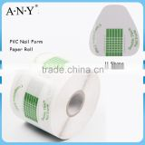 ANY Crystal Beauty Nails Design 500PCS per Roll Paper Roll PVC Plastic Nail Form U Shape