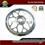 Mass Production cnc machining wheel spacer trailer wheels