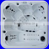 6 persons 164 pcs Jets CE SAA outdoor bathtub jacuzzi function                                                                         Quality Choice                                                     Most Popular
