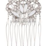 Ring comb hair clip blond cystal clip in hair extension designs
