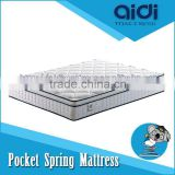 Pillow Top Diamond High Density Foam Kingdom Pocket Spring Plush Bed Mattress