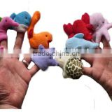 Marine Animals Finger Puppets (Starfish+Dolphin+Octopus+Whale+Shark+Sealion+Lobster+Seahorse+Sea Turtle+Zebra Fish) JPtoys140702