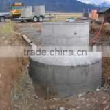 China PUXIN 10m3 Hydraulic Pressure High Reliable Family Size Biogas Digester Design for Family with 1-100 Pigs