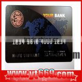 Anti-counterfeiting bank card/debit card