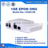 CE Certificated FTTH Layer 3 Function 1GE GEPON ONT Optical Network Unit Managed Through CTC OAM/WEB/TELNET/CLI