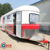 4 horse trailer length 6.3m with swing out saddle box
