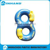 top quality pvc inflatable double circle baby Swimming ring/adult water ring inflatable float/outdoor sport water toys