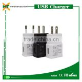 Wholesale cell phone charger for samsung N7100 2A Fast charge 5V 2A 2000mA US EU adapter