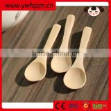 High quality logo custom wooden soup spoon
