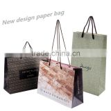 Recyclable New Design Paper Bag With Long Cord Handle