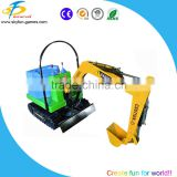 Hot sale electric small mini games excavator children digger games indoor sports coin operated machine