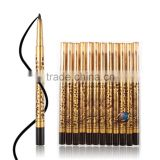 12Pcs Black Liquid Eyeliner Pen Fluent Waterproof Sweatproof Eye Liner Pencil Makeup Cosmetic Tool Hard-wearing